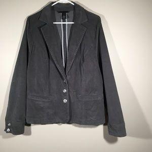 Lane Bryant Grey Jacket